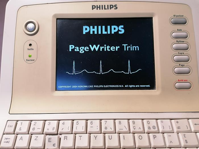 Used Philips Page Writer Trim  EKG device