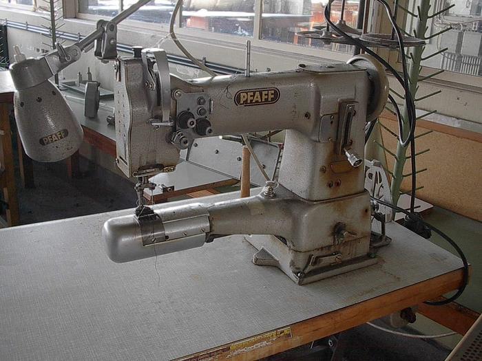 Gebraucht 2-Nadel-Steppstich für Mützen  PFAFF  Kl. 342-61/03-BS 2 Nd.