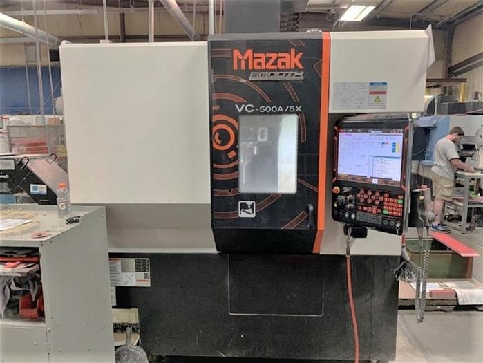 Used 2017 Mazak VCU-500A-5X