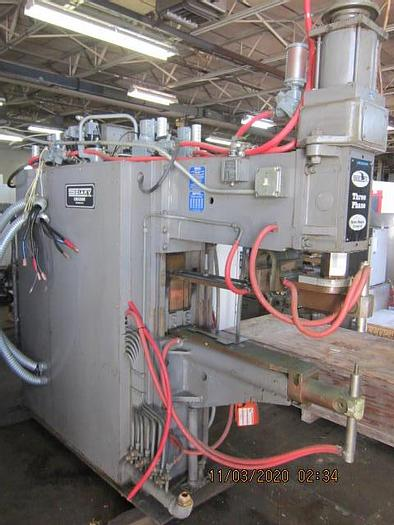 Refurbished Sciaky Spot Welder   --  solid state controls 3 Phase
