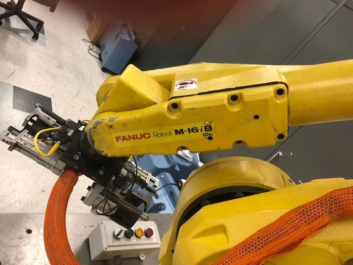 FANUC M16iB/10L 6 AXIS CNC ROBOT WITH RJ3iC CONTROLLER