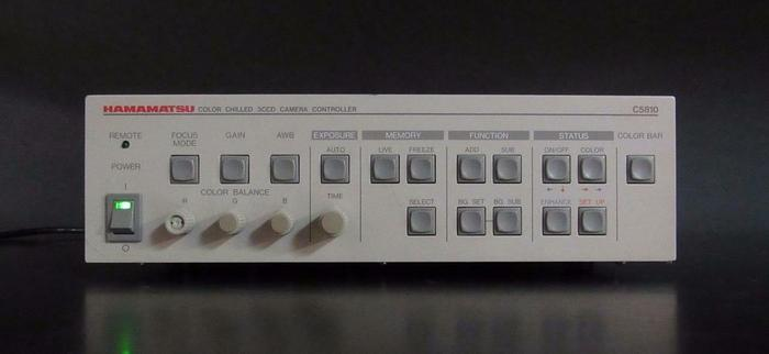 Used Hamamatsu Color Chilled 3CCD Camera Controller C5810 (3490)