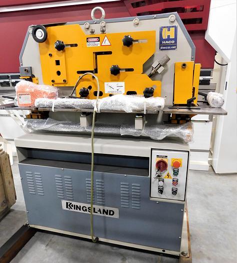 NEW Kingsland 50 Ton Hydraulic Ironworker Compact 50