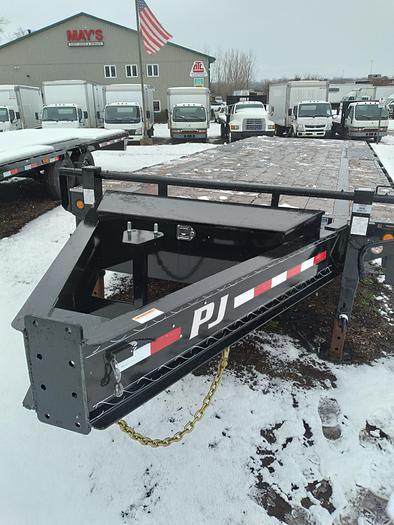 2021 PJ'S 24' LOW PROFILE FLAT DECK - UTILITY TRAILER - NTR-592
