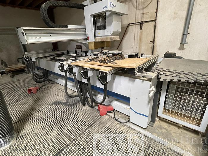 Used Weeke BHC 280 CNC Router