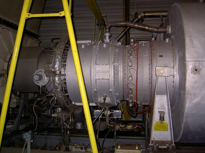 Used SGT 200 Tornado Gas Turbine Package 6.44 MW, first operation 1995