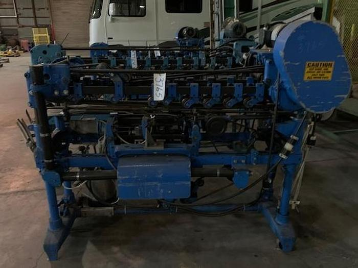 Standard -Knapp Roll-Through Can Labeler Model HOR-1