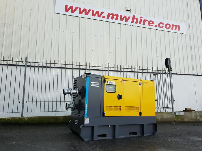 "Used 4"" Atlas Copco PAS 100MF"