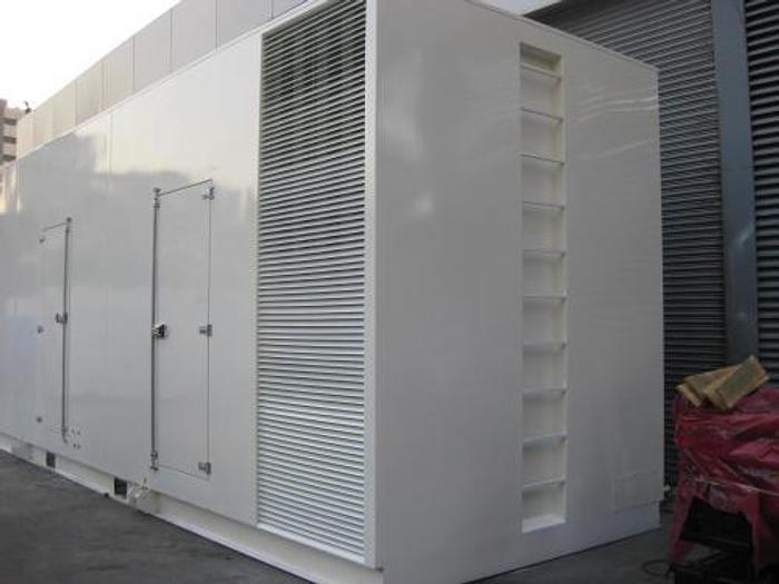 NEW 2.28 MW 2018 Cummins QSK60G6 Diesel Generator