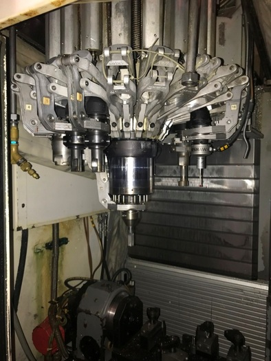 CHIRON FZ-15-S LEAN VERTICAL 4 AXIS HIGH SPEED VMC