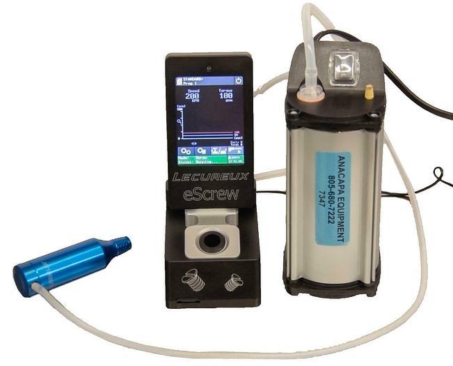 Used Lecureux Escrew Controller w/ M-626E2 Motor, SP 302 SA-V Diaphragm Pump (7347)R