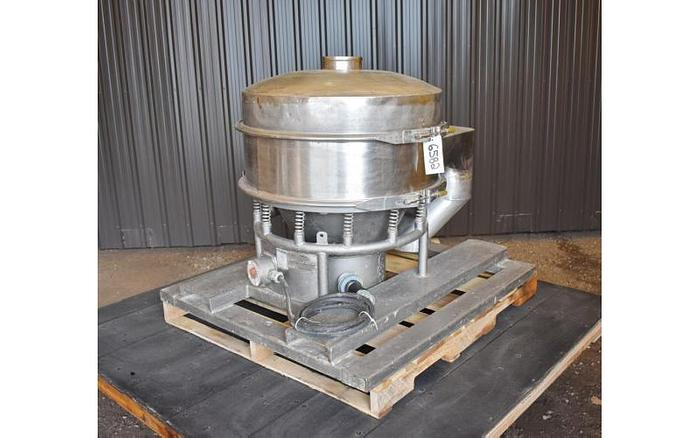 "USED SWECO SCREEN, 30"" DIAMETER, STAINLESS STEEL"