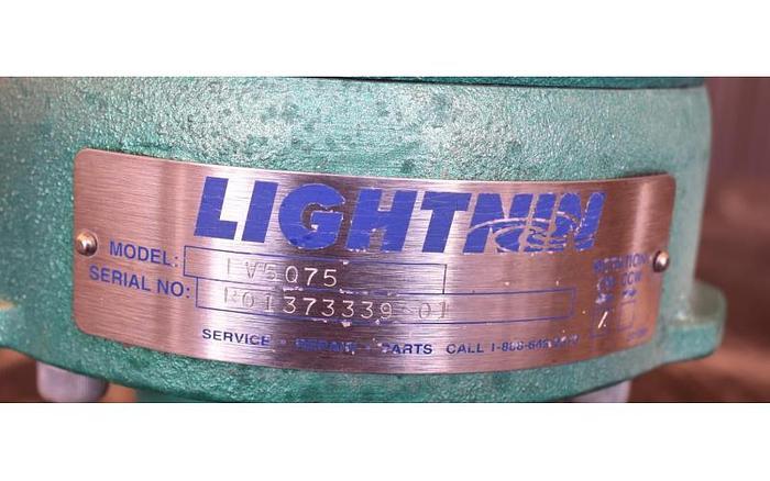 USED LIGHTNIN TOP ENTRY MIXER, MODEL EV5075, 0.75 HP
