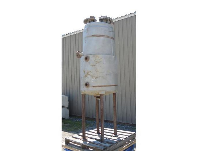 USED 95 GALLON JACKETED TANK, STAINLESS STEEL