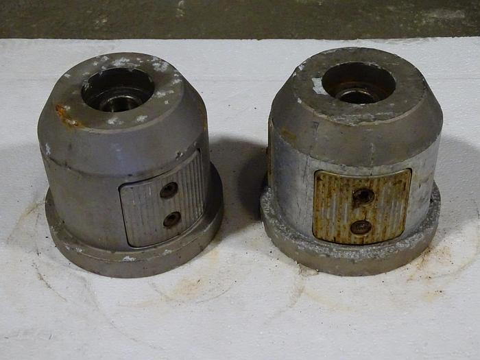 "Used 6"" (152.4MM) PAIR OF UNWIND / REWIND CHUCKS"