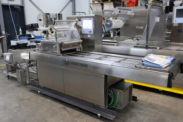 Used Multivac T300 compact automatic traysealer