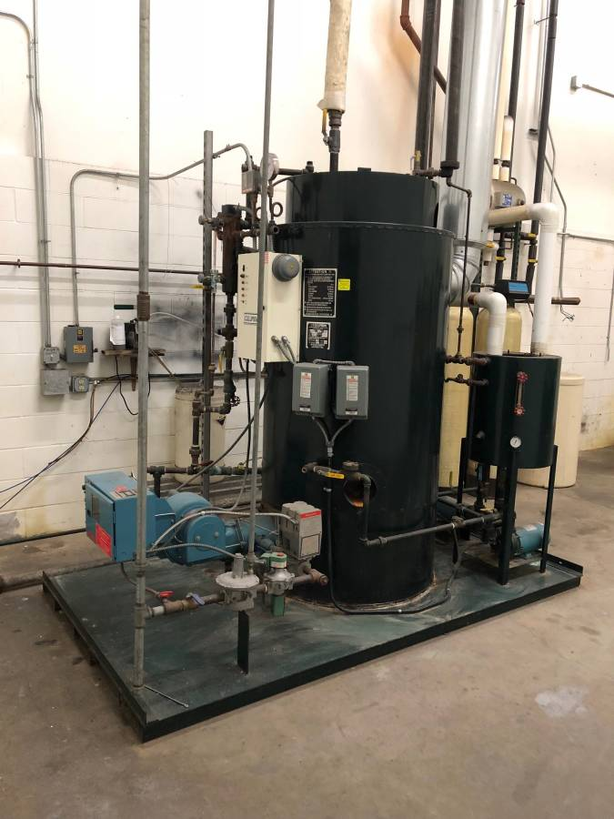 Columbia 25hp Boiler columbia package boiler
