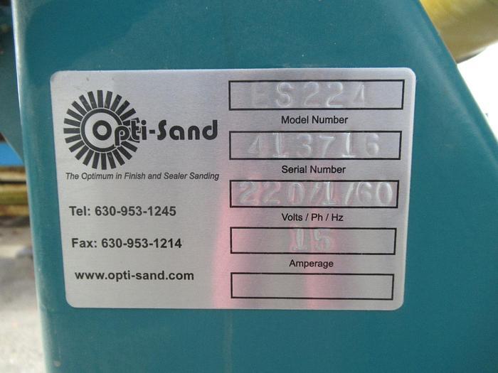 Opti-Sand ES224 Twin-Spindle Sander