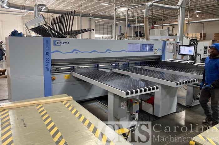 Used Holzma HPP 300 Panel Saw