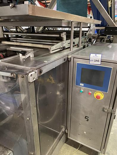 Used ILAPAK VT 3000 with 400mm Jaw and Markem Smart Date Printer YOM-2004