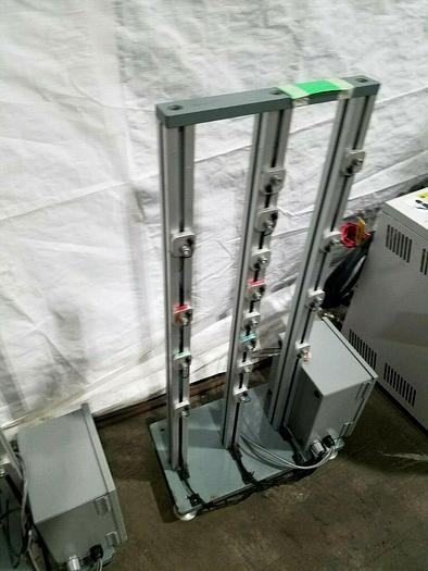 Used Keyence Amplifier Photoelectric Sensor Rack Pass Through Feed Control