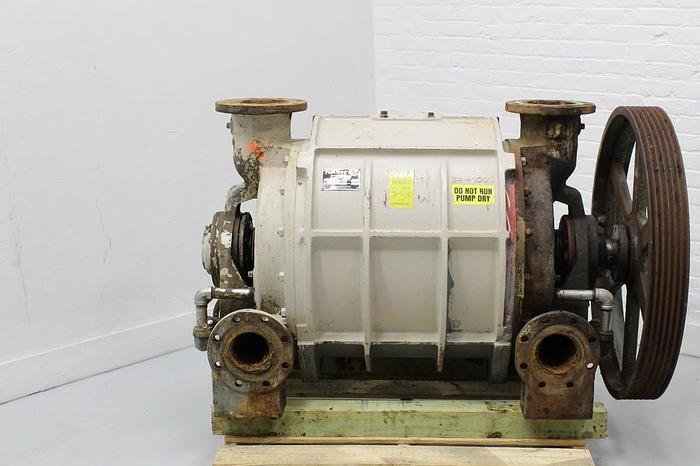 Used NASH CL2002 VACUUM PUMP CAST IRON