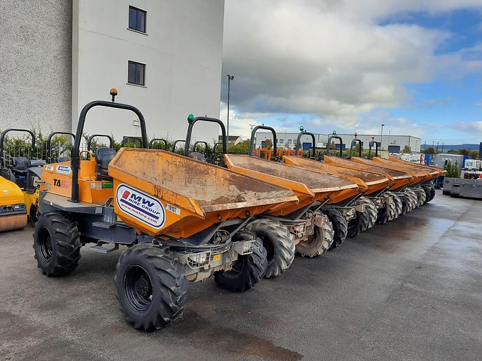 Used Selection of 6 tonne swivel Dumpers available