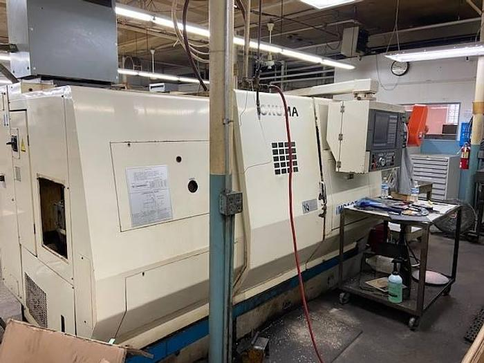 Used 1995 Okuma LU15 Twin Turret, 4-Axis Turning Center