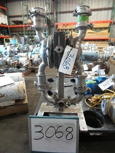Used Wilden Wilden 2'' Stainless Steel Diaphragm Pump