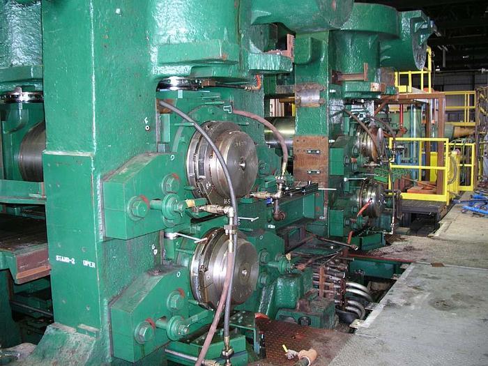 """36"""" 2-Hi Aluminum Hot Rolling Mill: RM-228"""