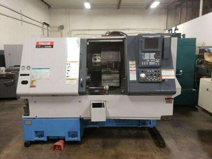 Used 2000 MAZAK SUPER QUICK TURN 200M CNC LATHE WITH LIVE TOOLING / MILLING