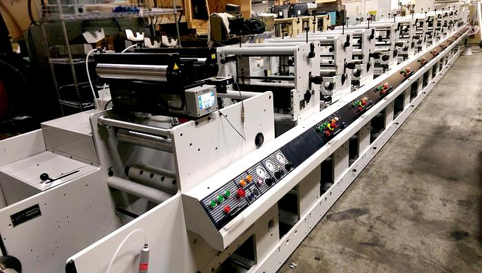 "Mark Andy 16"" 4000 series Flexographic Printing Press"