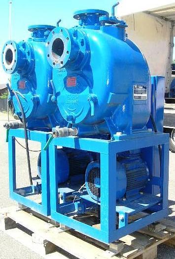 Used GORMAN-RUPP self-priming centrifugal pump, type T4A3-B
