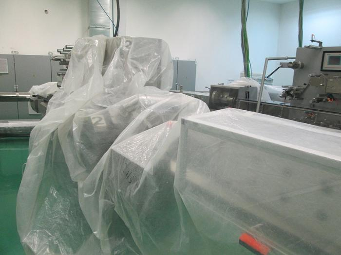 (2) EUROSICMA CANDY CUT AND FLOWPACK WRAPPERS