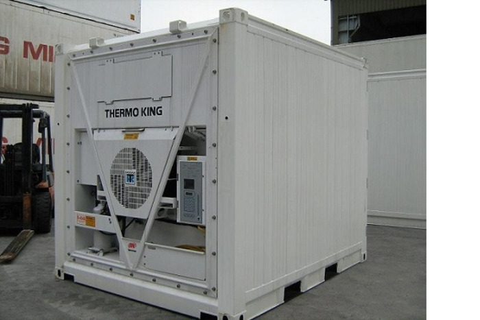 """10 'Container 8'6 """"Thermoking"""
