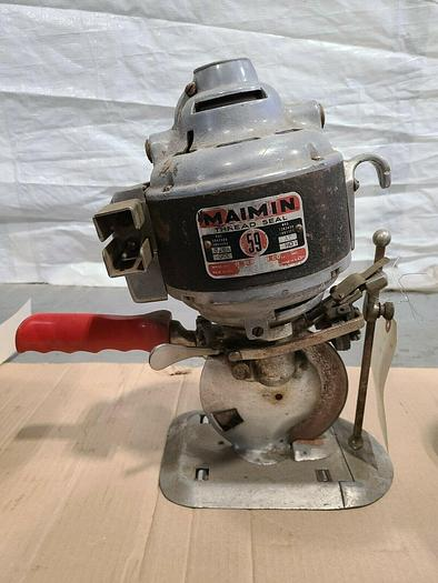 Used Maimin Thread Seal 59 Fabric Leather Rotary Cutting Machine