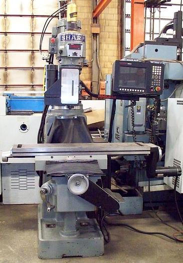 Used Sharp 3 Axis CNC Vertical Milling Machine