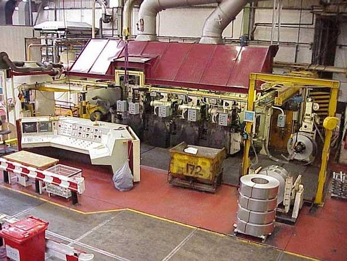 Used 300mm Frohling 4-Stand 4-Hi Tandem Rolling Mill: RM-444