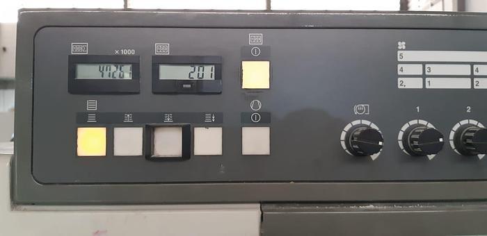 2011 Komori SX429+LX