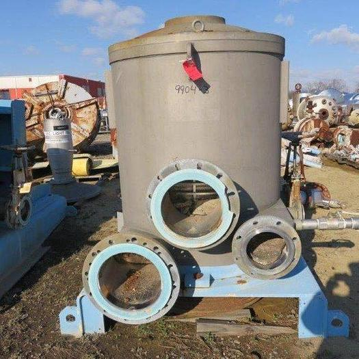 Used VALMET MDL T9 S/S DELTA PRESSURE SCREEN
