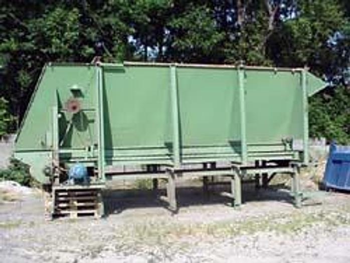 Używane Zasobnik dozujący - bunkier zasypowy z przenośnikiem taśmowym