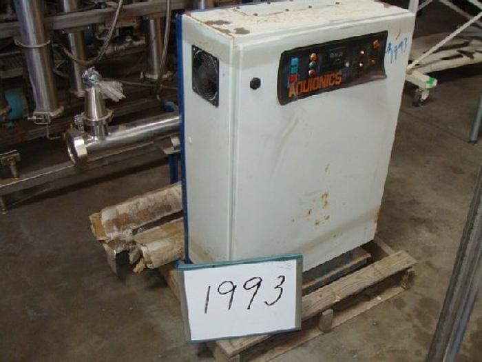 Used Aquionics Ultra- Violet Water Sterilizer/Purifier