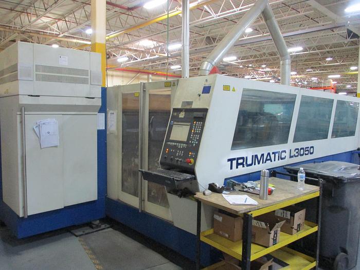 6000 WATT, TRUMPF, L3050, 2005, CNC LASER