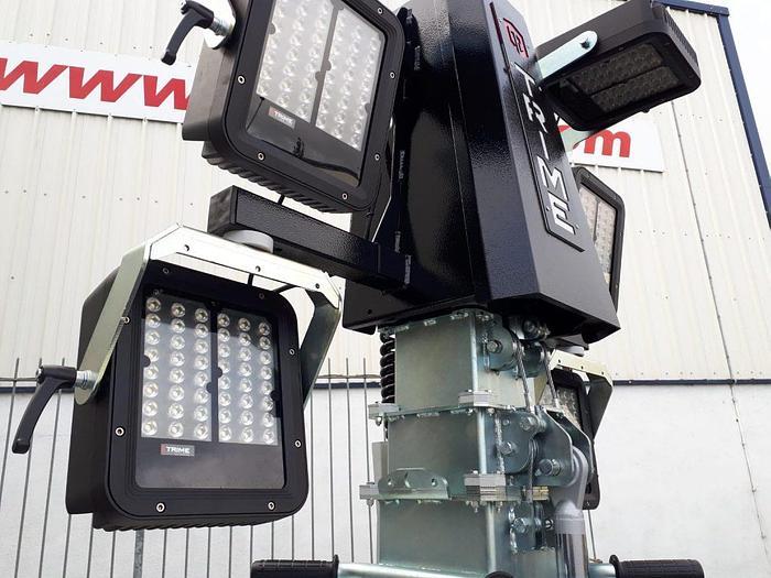X-ECO Lighting Tower Trime X-ECO 6x160W 48V LED 9m