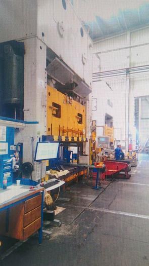 Mechanical press 800ton ERFURT model PKZV IV 800FS