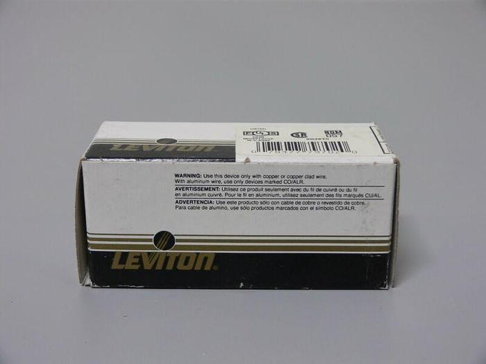 Used Lot of 2 Leviton # 4560 - 250 VAC, 15 Amp L6-15R NEMA, Self Grounding Receptacle