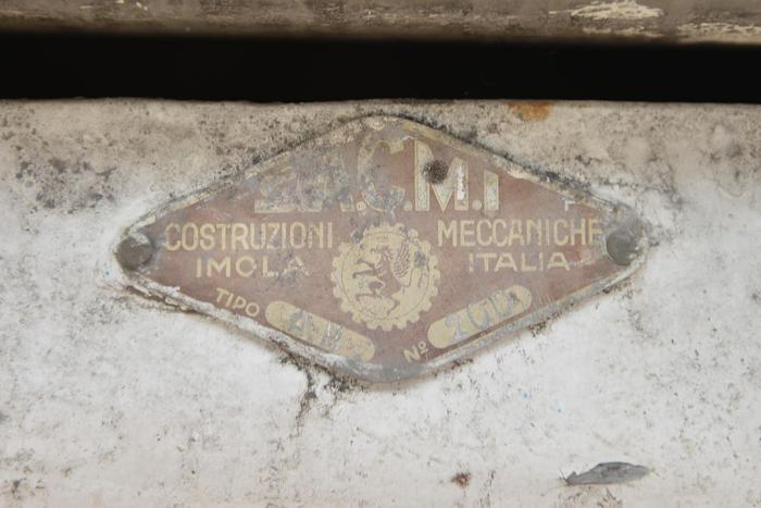 Miscelatore SA.C.M.I. da 120 Litri