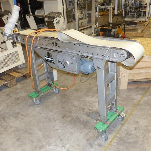 Gebraucht gebr. Transpotband HAMBERGER ca. 200 mm Breite und ca. 1.500 mm Länge
