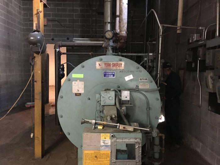 Used YORK SHIPLEY 50 HP BOILER
