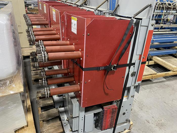 Used SIEMENS HIGH VOLTAGE CIRCUIT BREAKER 5-MSV-250C-1200-58 (FOUR AVAILABLE)